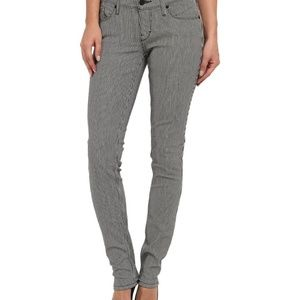Levi's | Navy Blue Pin Stripe Skinny Jeans 8